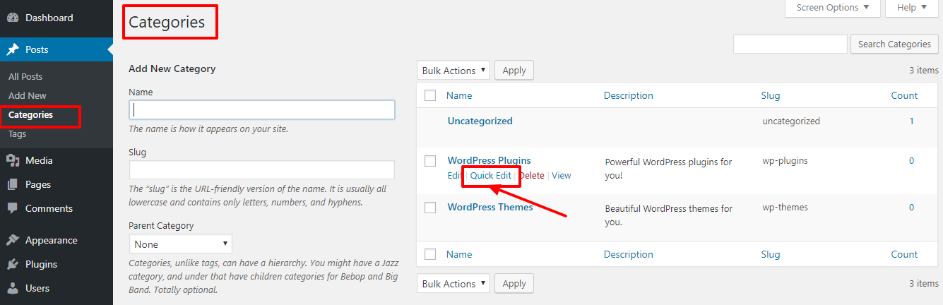 quick-edit-wordpress-categories