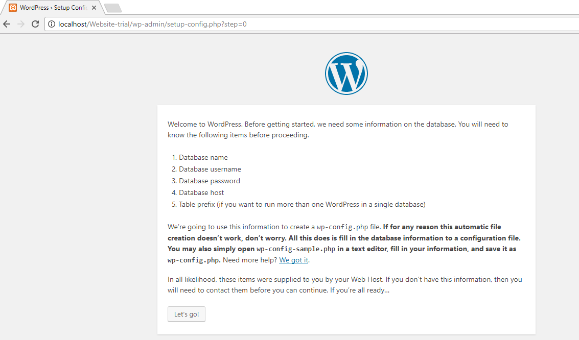 How-to-Install WordPress-on localhost-Xampp