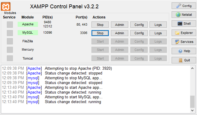 How-to-use-XAMPP