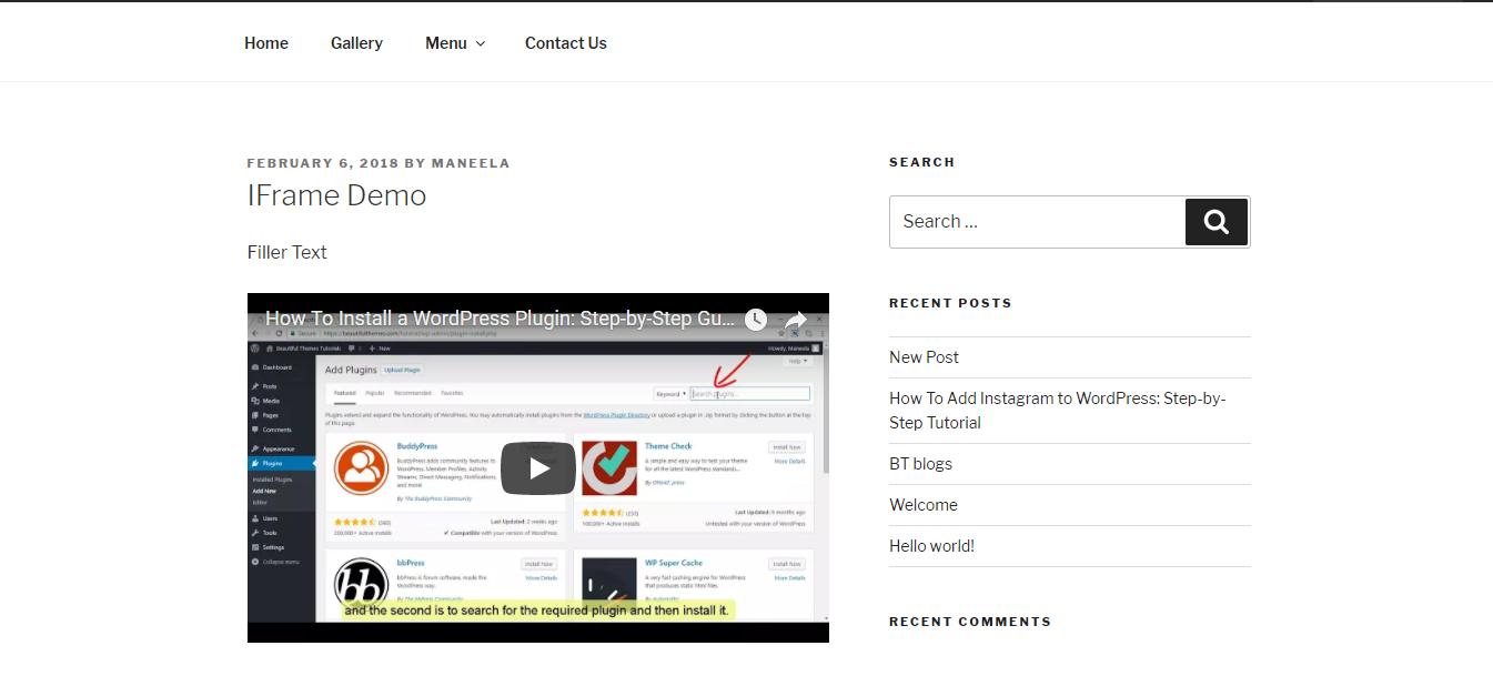 WordPress-Iframe-Demo-Screenshot1