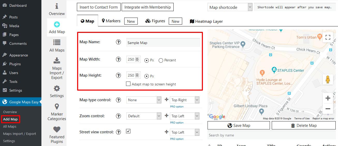 wordpress maps plugin