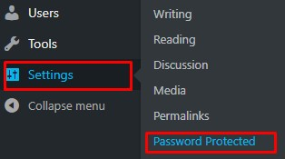 How-to-password-protect-WordPress-site