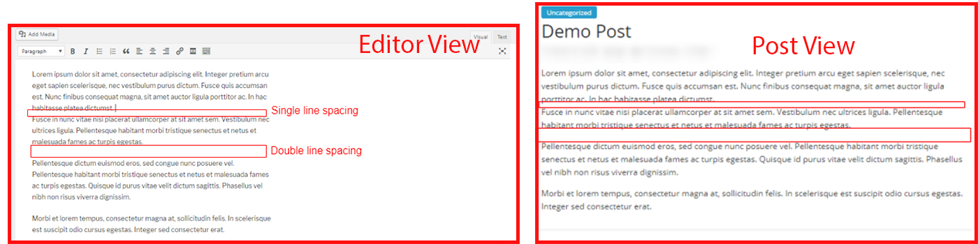 WordPress-line-spacing-editor-post-view