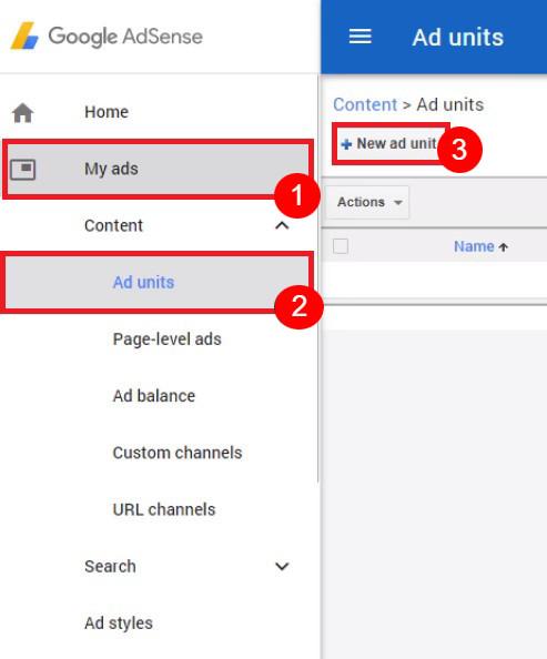 google adsense on wordpress dashboard