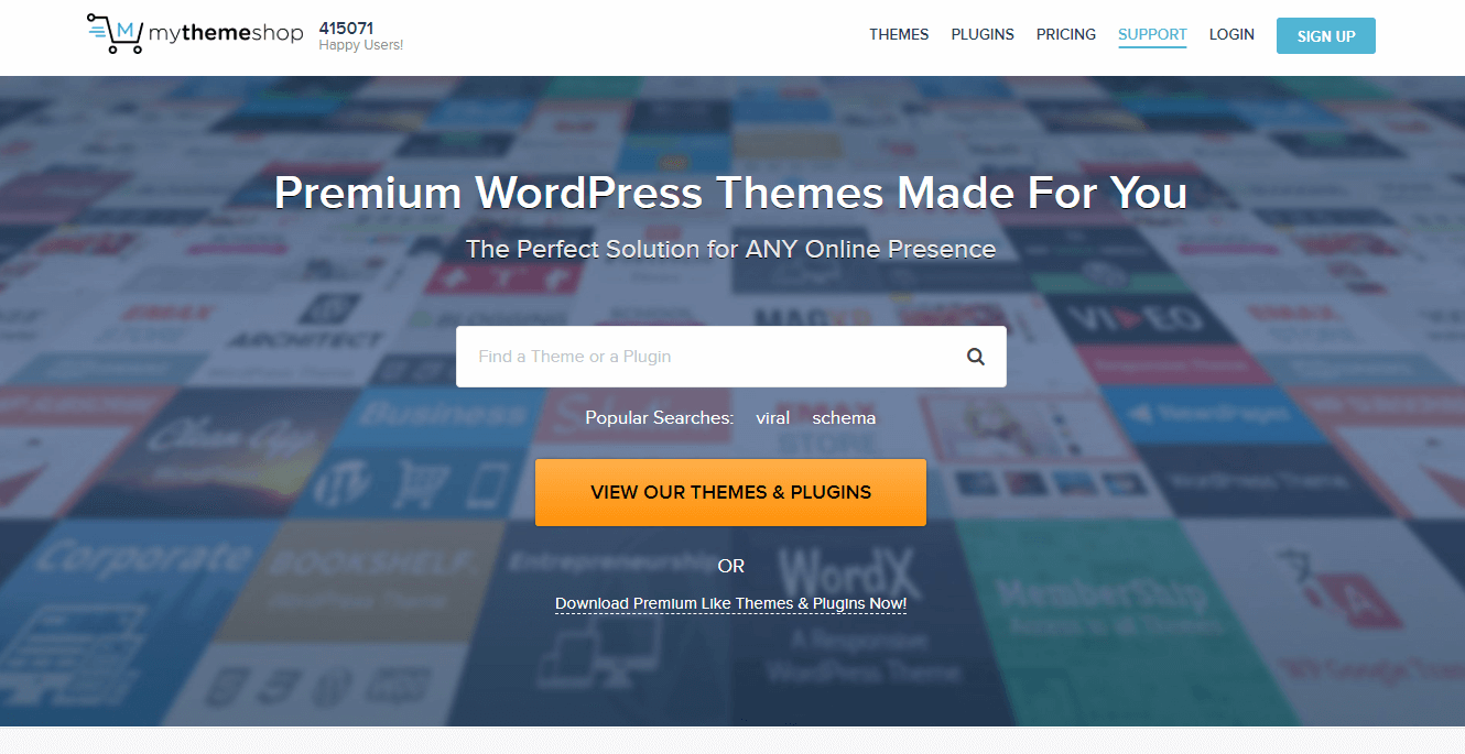 MyThemeShop-Best WordPress Themes Marketplaces
