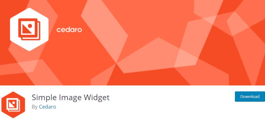 WordPress image widget plugin1 Simple image widget
