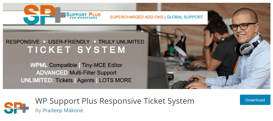 WP Support Plus-WordPress Helpdesk Plugin