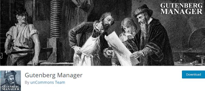 Disable gutenberg - gutenberg manager plugin