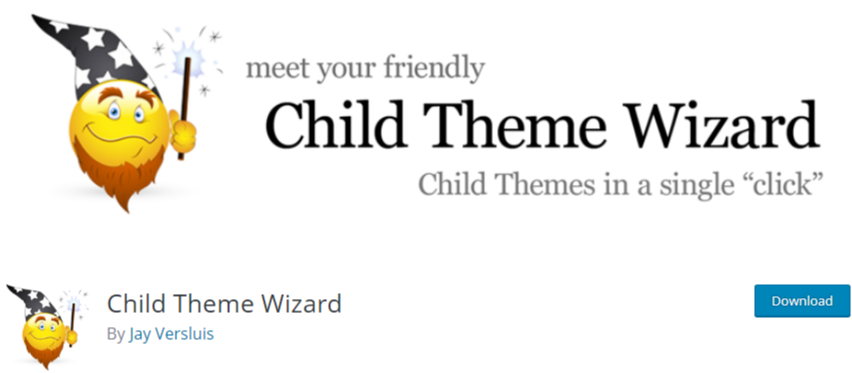 WordPress child theme - plugin Child theme wizard