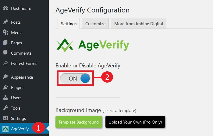 WordPress Age Verification Plugin