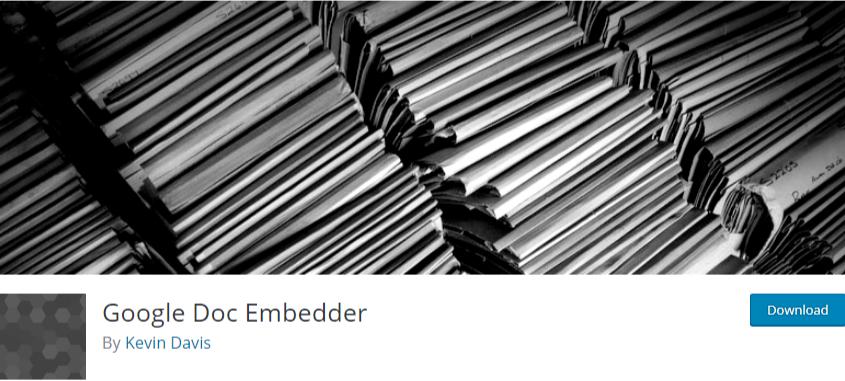 upload pdf to WordPress - Google doc embedder plugin
