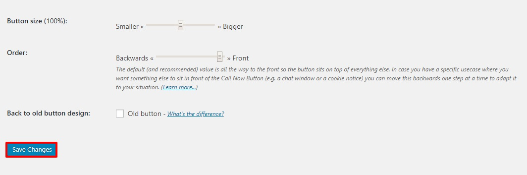 wordpress how to button click to call a new page and pass data