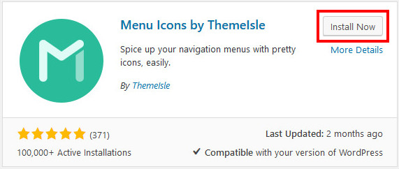 How to add social media icons to WordPress menu