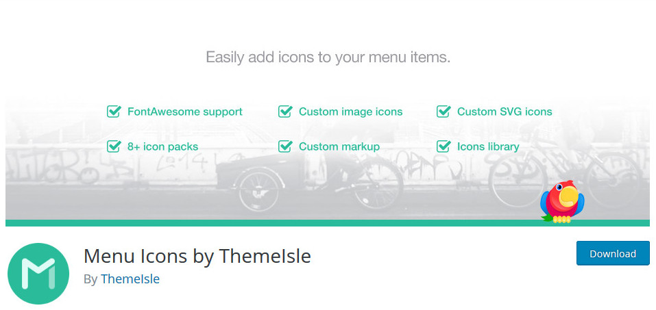 WordPress Menu Icons
