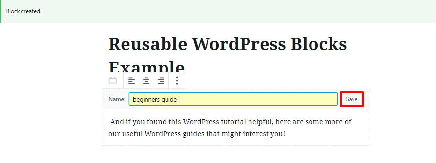 wordpress gutenberg blocks
