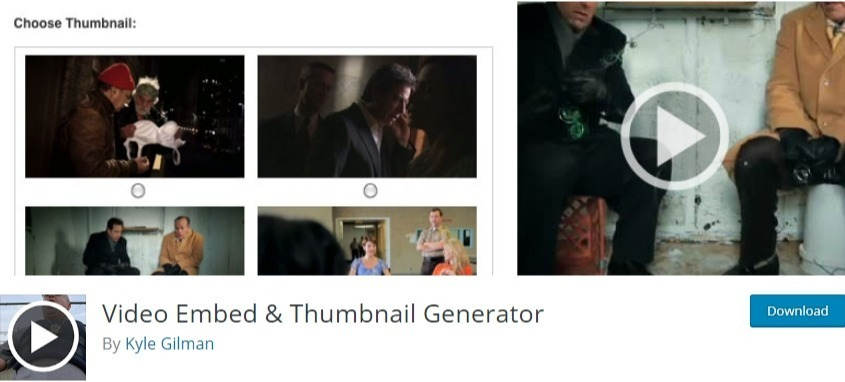 embed videos in wordpress - video embed & thumbnail generator
