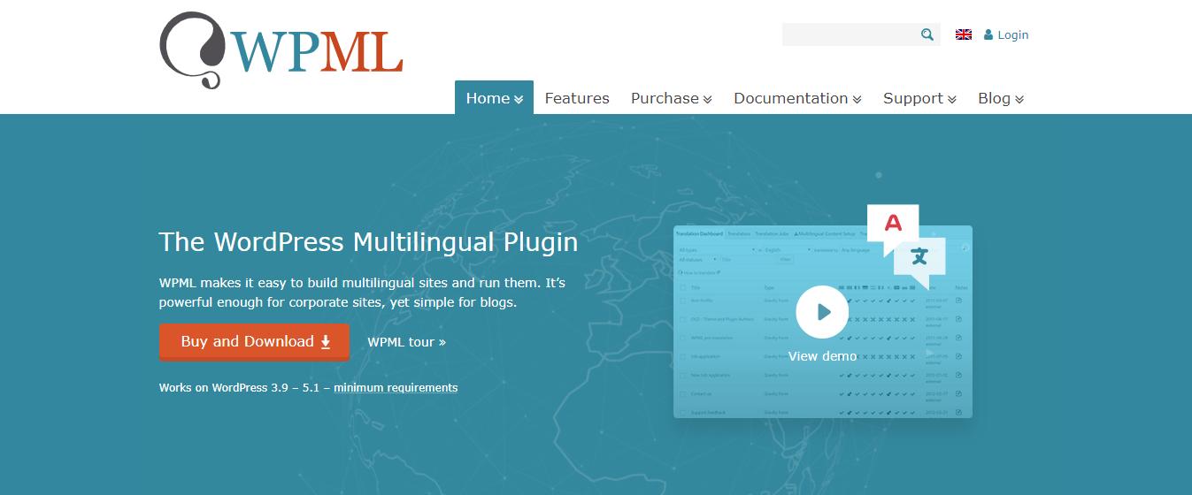 multilingual wordpress site WPML