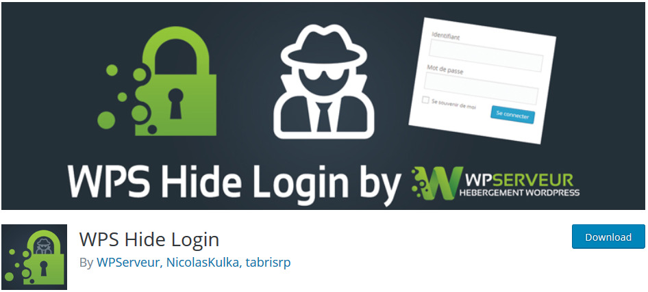 wordpress hide login page