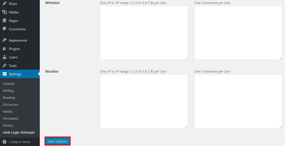 limit login attempt wordpress