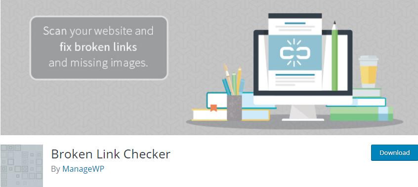 how to fix broken links in wordpress - Broken link checker