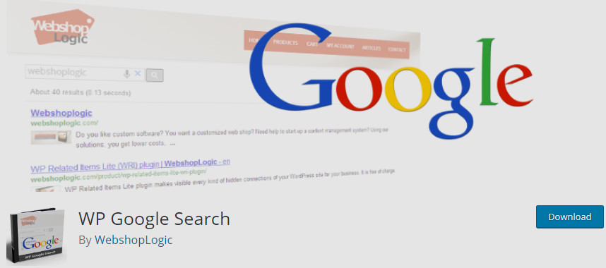 wordpress google search - WP GOOGLE SEARCH