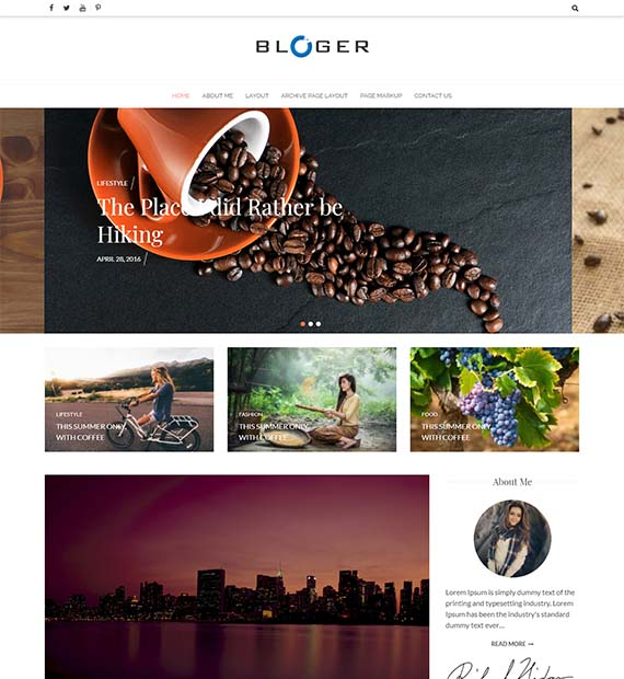 bloger-free-wp-theme