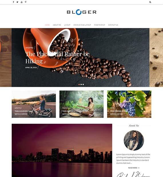 bloger-free-wp-theme