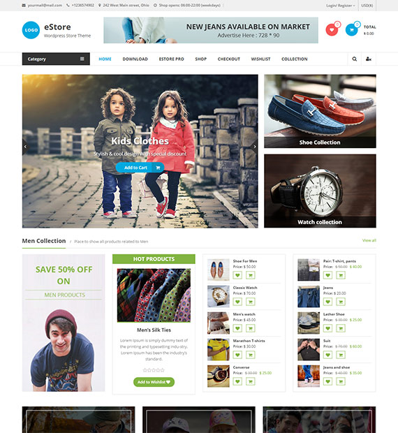 eStore-Free-WordPress-WooCommerce-Theme
