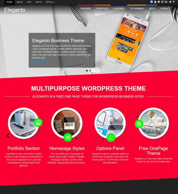 Best wordpress business themes beautiful themes business best wordpress themes flashek Gallery