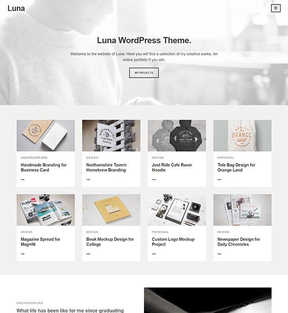 luna-free-minimalist-wp-blog-theme