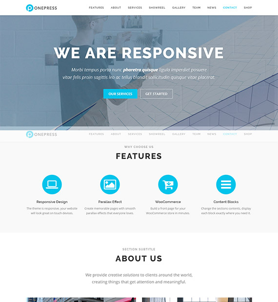 onepress-free-onepage-wp-theme