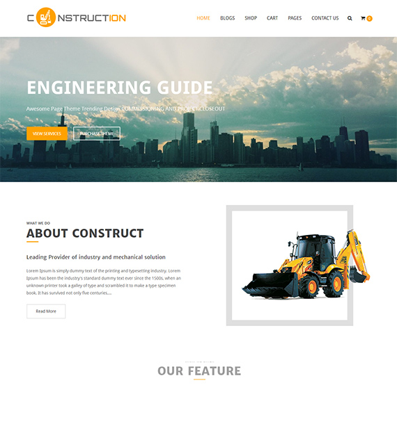 Construction Lite-Business-WordPress-Theme