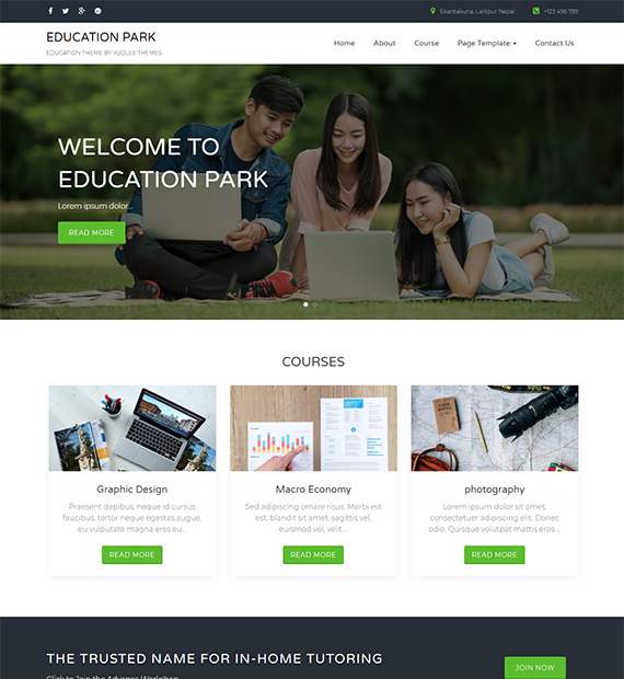 Education-Park-Education-WordPress-Theme