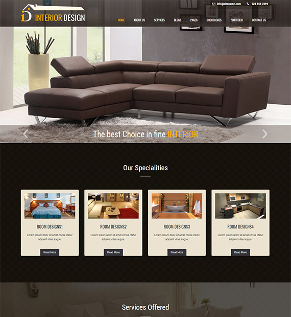 Interior-lite-free-wordpress-business-theme
