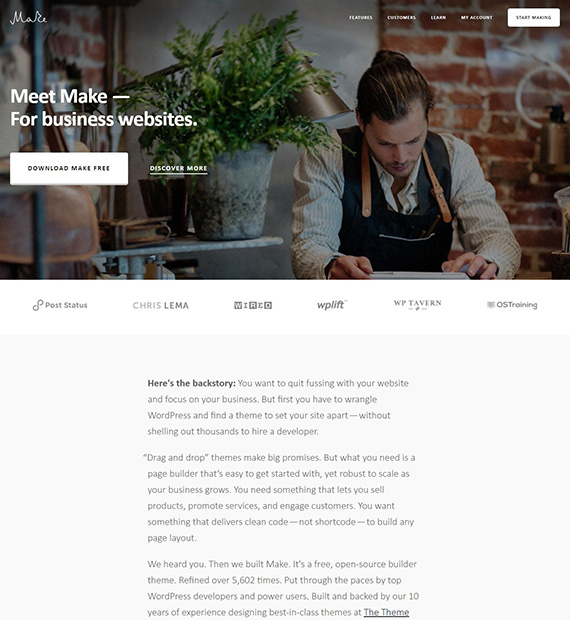 Make-WP-Business-theme