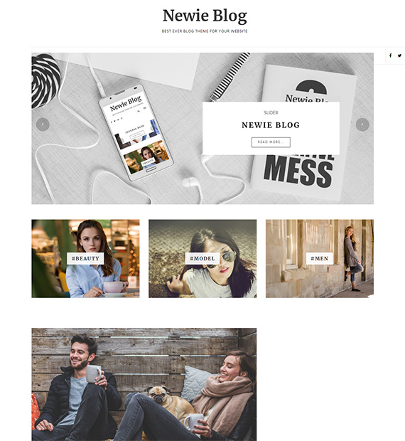Newie Blog-Blog-WordPress-Theme