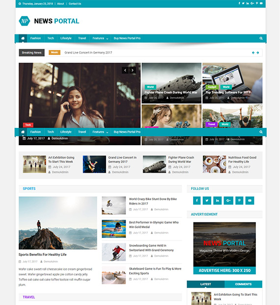News-Portal-WP-Magazine-Theme