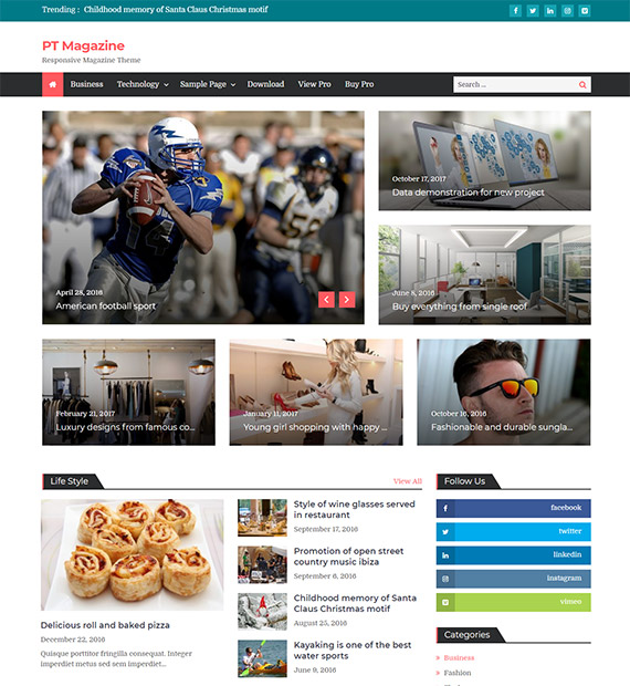 PT Magazine–Magazine-WordPress-Theme