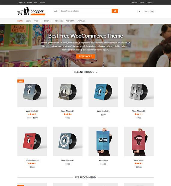 Shopper-free-WP-ecommerce-theme