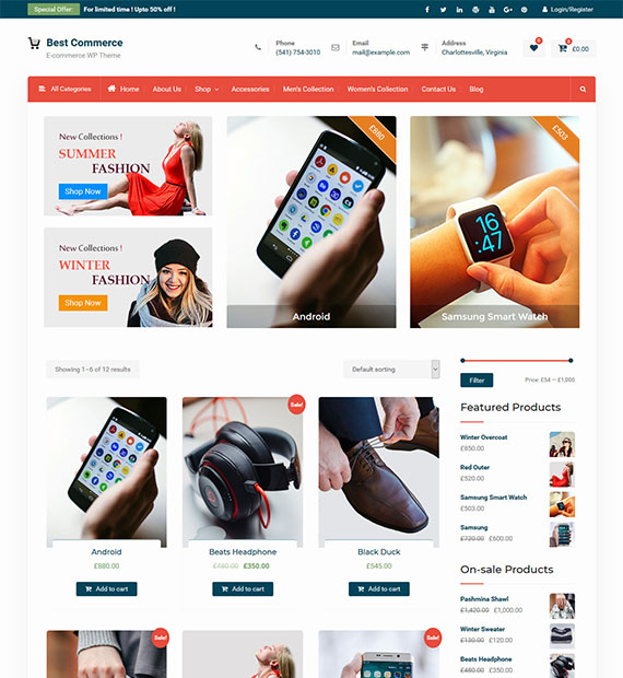 best-commerce-free-wordpress-ecommerce-theme