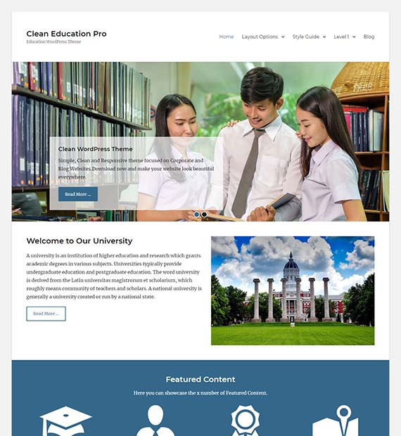 clean-education-free-theme