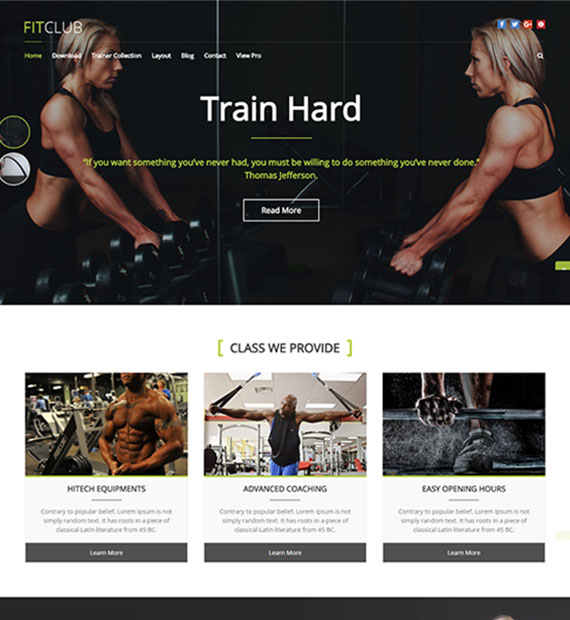 fitclub-free-fitness-wordpress-theme
