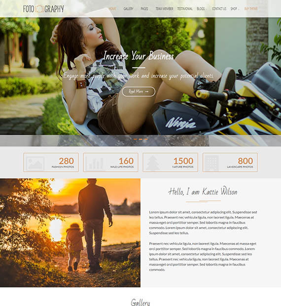 fotography-free-wp-theme