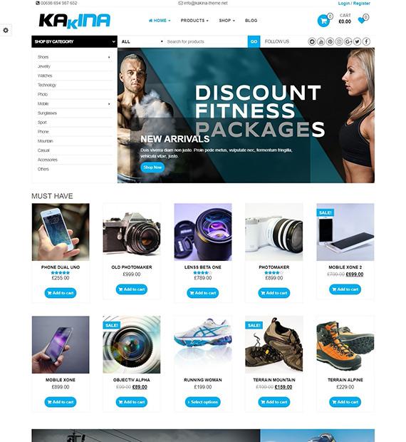 kakina-WordPress-e-commerce-theme