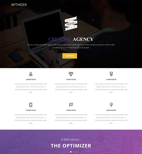 optimizer-free-wp-business-theme
