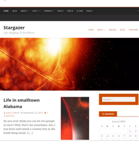 stargazer-free-wp-blog-theme
