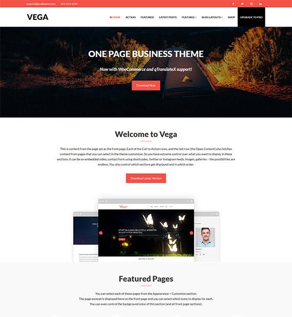 vega-free-wp-theme
