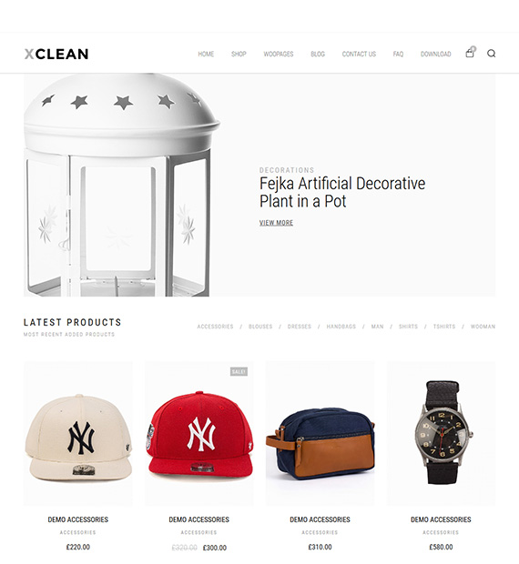 xclean-wordpress-theme