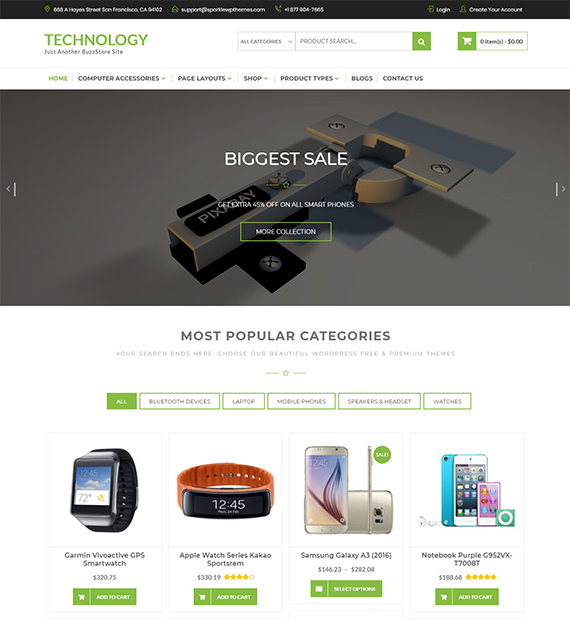 Buzzstore-eCommerce-WordPress-Theme
