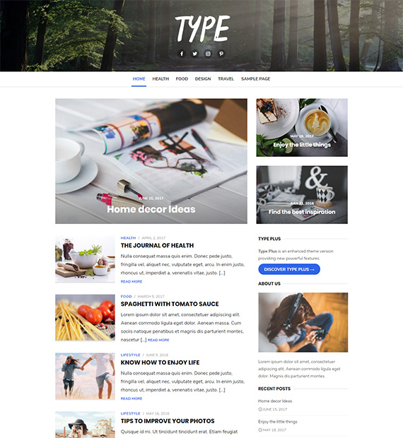 type-Blogging-WordPress-Theme